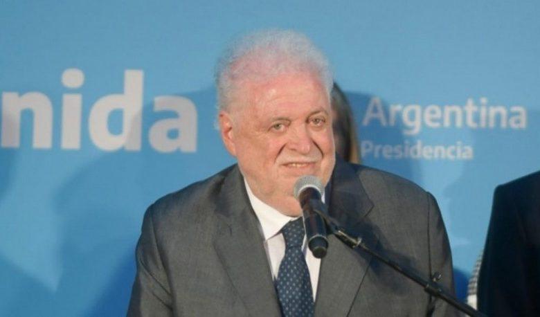 Ministro de Salud Ginés González García