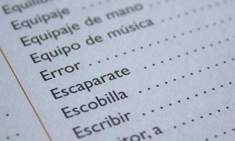 Photo of ¿Yendo o llendo? Los 25 errores más comunes de nuestro lenguaje