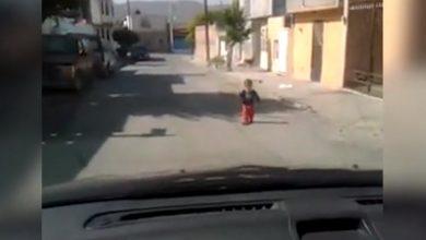 Photo of Encontraron a bebé de 1 año sola en las calles de Valle Fértil y sus familiares aparecieron 1 día después