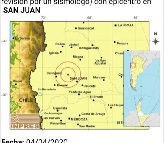 Photo of San Juan: sismo de 4.9 de magnitud rompió la calma