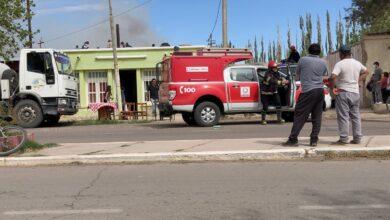 Photo of Grave incendio en una vivienda de Calingasta