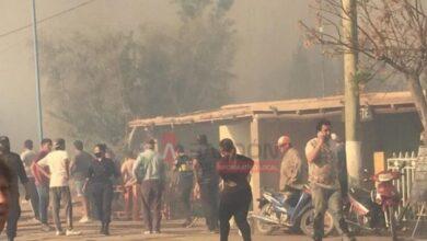 Photo of Peligroso incendio en Albardón: se quemó un vehículo y un anciano se intoxicó