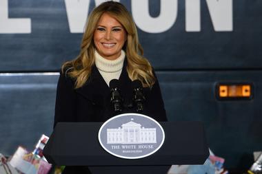 Photo of El emotivo video de despedida de Melania Trump que casi ni menciona a su marido