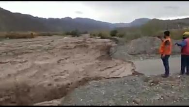 Photo of Después de las precipitaciones, la Quebrada de Pachaco quedó afectada por las crecientes