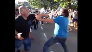 Photo of Militantes de la CGT agredieron a manifestantes frente a la Quinta de Olivos