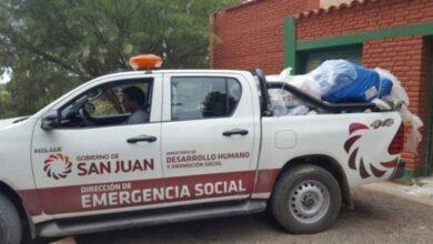 Photo of Las familias afectadas por la tormenta serán asistidas por el Gobierno