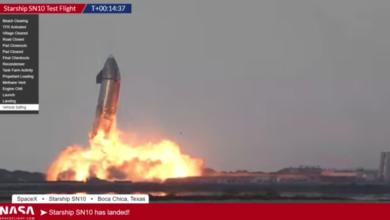 Photo of Un prototipo de cohete de SpaceX explotó minutos después de aterrizar